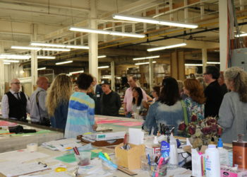 Fashion Upstate Visits MA+CH Textile Studio in Schenectady