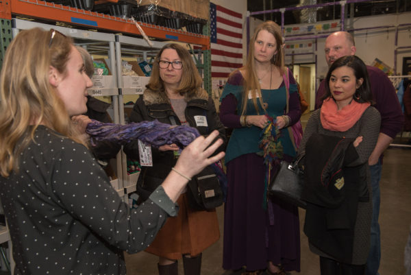 Creative Economy Mixer at Darn Good Yarn: Photo Highlights